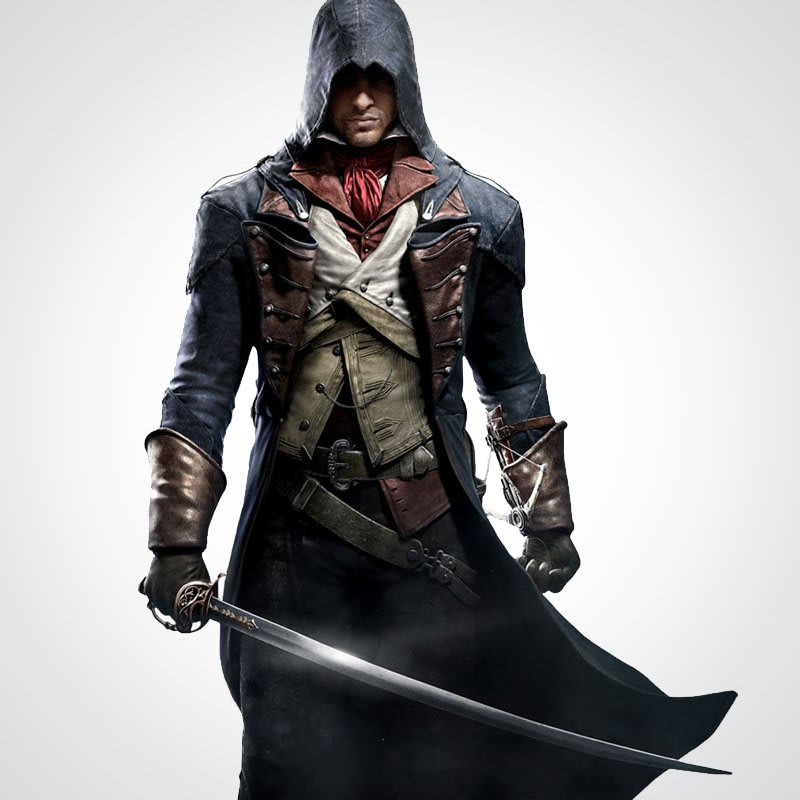 Assassin's-Creed Arno-Victor Halloween Cosplay-Costume Coat