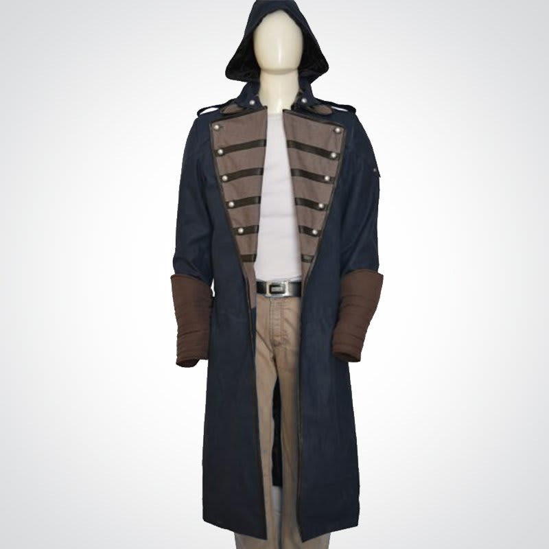 Assassin's-Creed Unity-Cosplay Hoodie-Outfit Costume