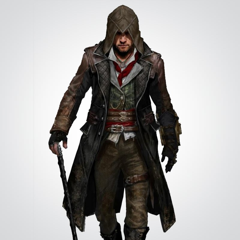 Assassin's-Creed Jacob-Frye-Trench-Leather-Coat