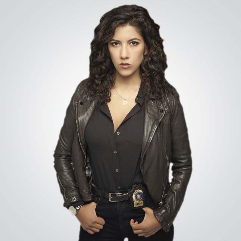 Brooklyn-Nine-Nine-Rosa Diaz black Leather Jacket