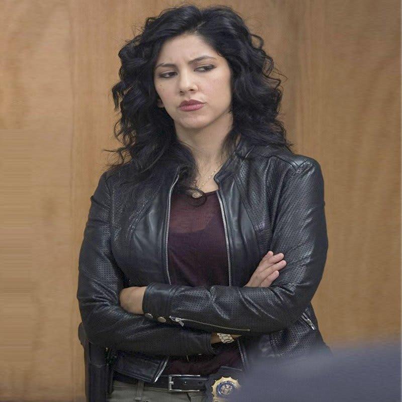 Brooklyn-Nine-Nine-Rosa-Diaz-black-Leather-Jacket