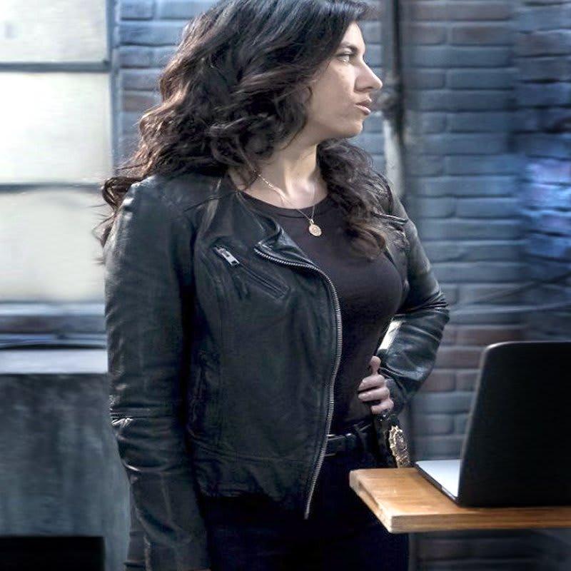 Brooklyn-Nine-Nine-Rosa-Diaz-black-Leather-Jackets