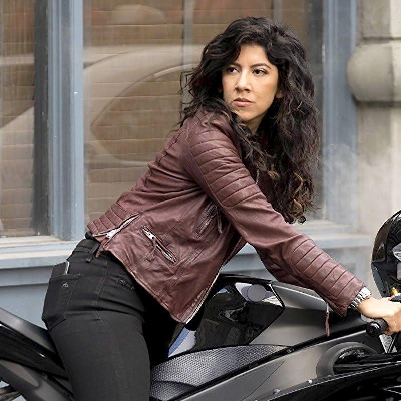Rosa Diaz Brooklyn 99 Stephanie Beartriz Leather Jacket