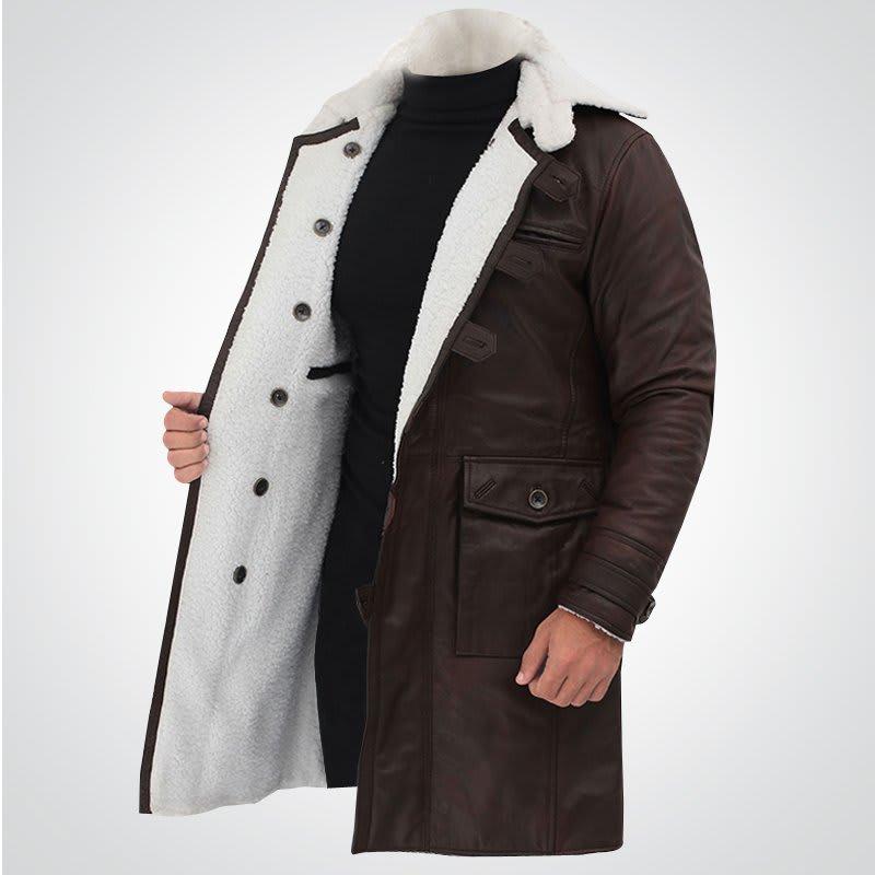 Dark-Knight-Rises- leather -Jacket & Coat