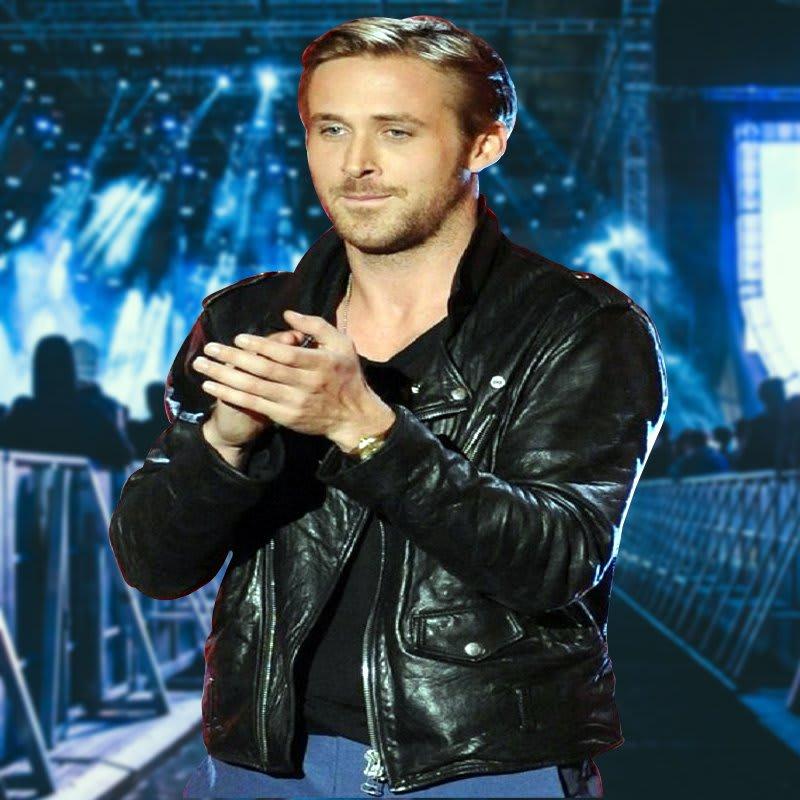 Ryan-Gosling-MTV Movie- Award-Biker- Leather-Jacket