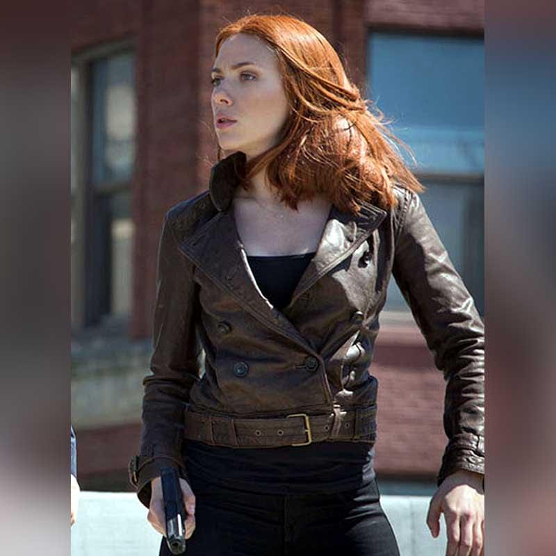 Winter-Soldier-Scarlet-Johnson-Captain-America-Black-Widow-Leather-Jacket