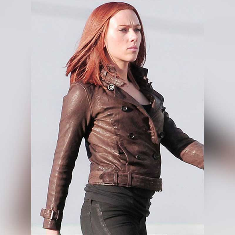 Black-Widow-Brown-Leather-Jacket