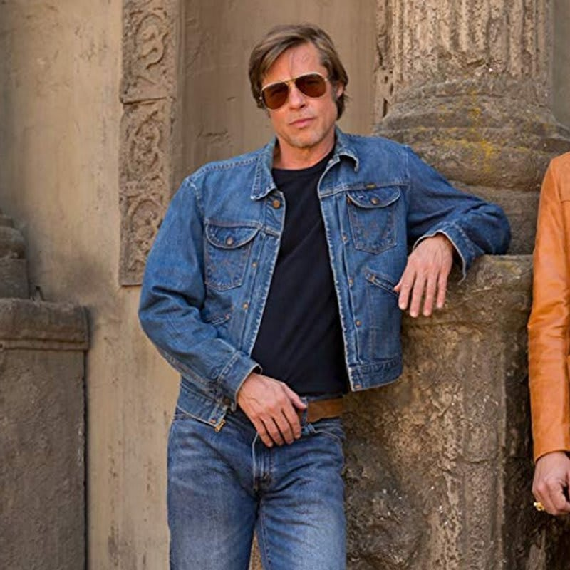 Brad-pitt-Once- Upon-A-Time-In- Hollywood-Denim- Jacket