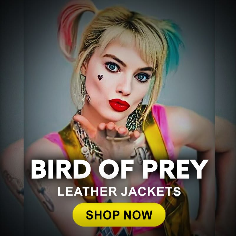 Birds-Of-Prey- Harley-Quinn-TV- Series-Movies- Leather-Jacket