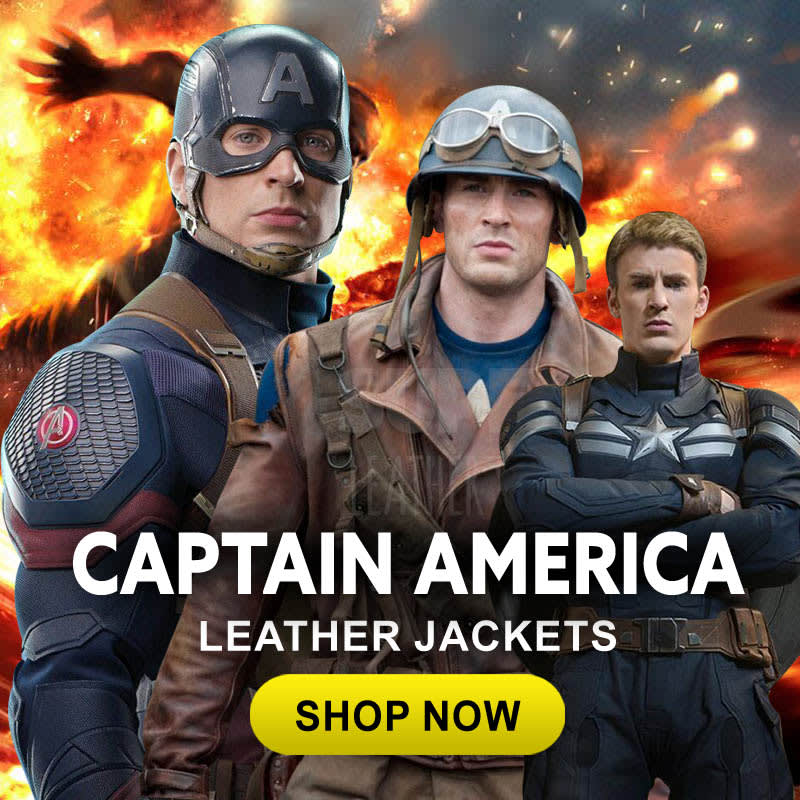 Captain-America- the-Winter- Soldiers-Leather- Jackets-movies- Leather-Jacke