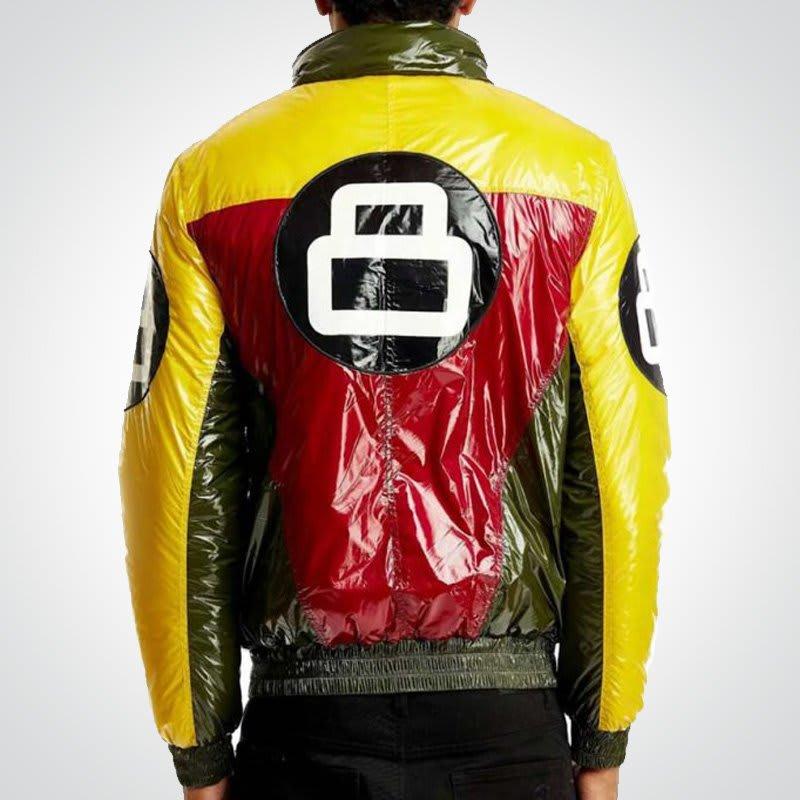 Vintage- 8-Ball- stylish-Bomber- Jacket