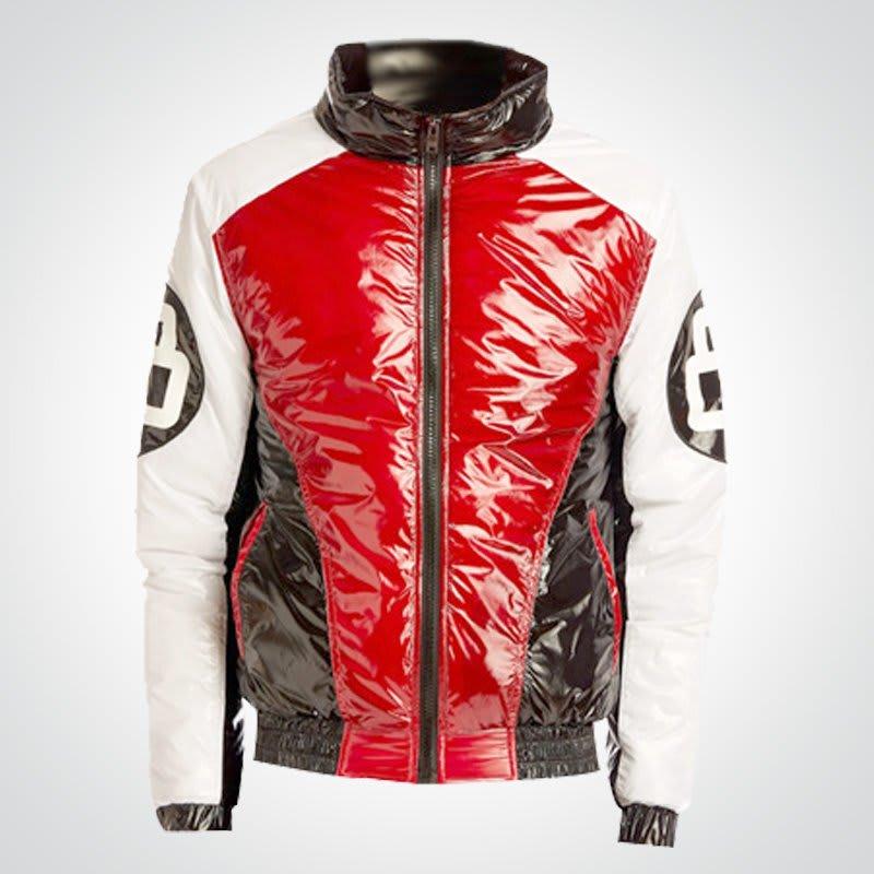 8-ball-red-and-white bomber jacket-for-men