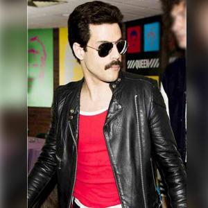 Bohemian Rhapsody-Freddie Mercury-Rami Malek-Biker Leather-Jacket