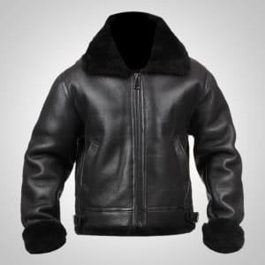 B3-Bomber-WW2-Pilot-Flying-Aviator-Shearling-Leather-Jacket