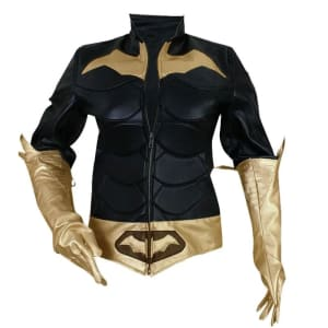 Batman Arkham Knight BatGirl Faux Leather Jacket