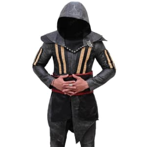 Assassin's Creed Aguilar, Callum Lynch Leather Movie Coat
