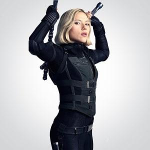 Avengers Infinity War Black widow Natasha Romanov Vest