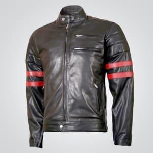 Wolverine- Hugh- Jackman- Black- Leather- Jacket