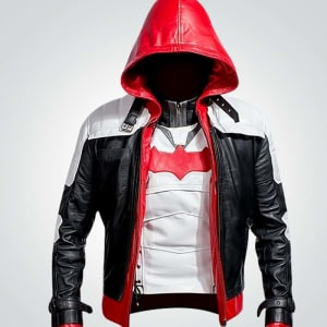 Batman-Knight-White-Leather-Vest-Plus-Leather-Jacket