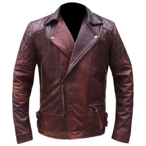 Men's-Red-And-Burgundy-Shade-Double-Rider-Leather-Jacket-Online-At-Superstar-Jackets-5
