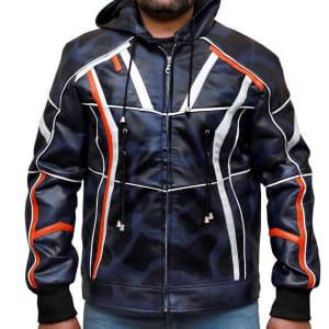 Tony Stark Infinity War Faux Leather jacket