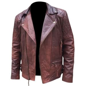 Men's-Red-And-Burgundy-Shade-Double-Rider-Leather-Jacket-Online-At-Superstar-Jackets-3