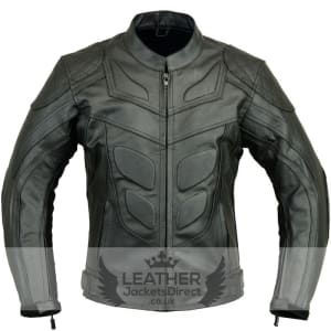 Batman Motorbike Leather Jacket Biker Protection Real / Faux Leather Jacket