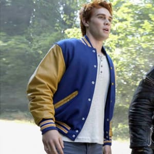 Riverdale-KJ-APA Varsity-Letterman R-Bomber-Leather-Jacket