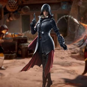 Assassin's-Creed Syndicate-Evie Frye-Cosplay Leather-Coat