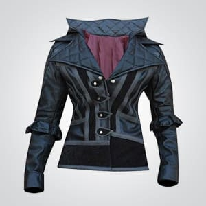 Evie-Frye-Cosplay Leather-Coat