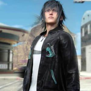 Final-Fantasy Noctis-Lucis Caelum-Black Bomber-Jacket