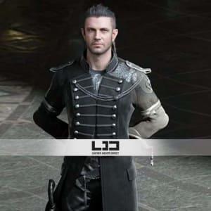 Kingsglaive-NYX Ulric-Final-Fantasy-XV Cosplay-Costume Coat