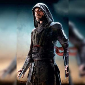 Michael Fassbender Assassin's-Creed Aguilar-Cal-Lynch Leather-Coat