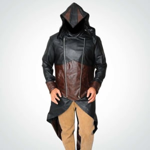 Exotica-Assassins Creed-Unity Hoodie-Leather Coat