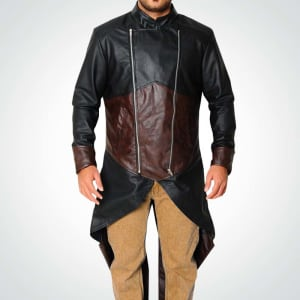 Assassins-Creed Unity-III-Exotica Leather-Hooded Coat