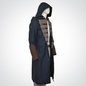 Assassin's-Creed Unity-Video-Game-Blue-Trench-Coat.