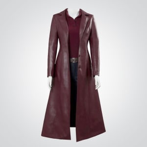 X-Men-Dark Phoenix-Jean-Grey-Maroon-Coat