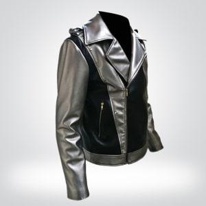X-Men Apocalypse-Quicksilver- Stylish-Biker Leather-Jacket
