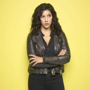Brooklyn-Nine-Nine-Rosa-Diaz-black-Leathers-Jacket
