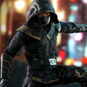 Hawkeye- Avengers- Endgame-Ronin- Hooded-Jacket