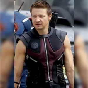 The-Avengers- Clint-Barton- Brown-Leather- Vest