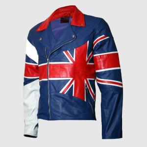 Union-Jack-British-Flag-Men- Motorcycle- Leather-Jacket