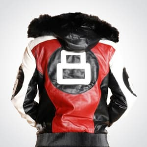 Fur-Hooded- bomber-style-8- ball-leather-Jacket