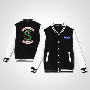 Southside- Serpents-Riverdale-Varsity- Bomber-Jacket