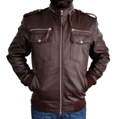 Target-Motorcycles-American-Classic-Limited-Edition-Vintage-Brown-Leather-Jacket-8