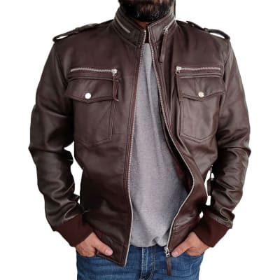 Target-Motorcycles-American-Classic-Limited-Edition-Vintage-Brown-Leather-Jacket-3