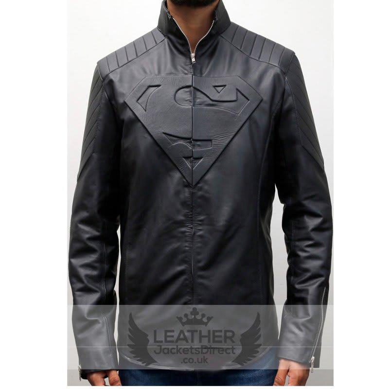 superman-leather-jacket