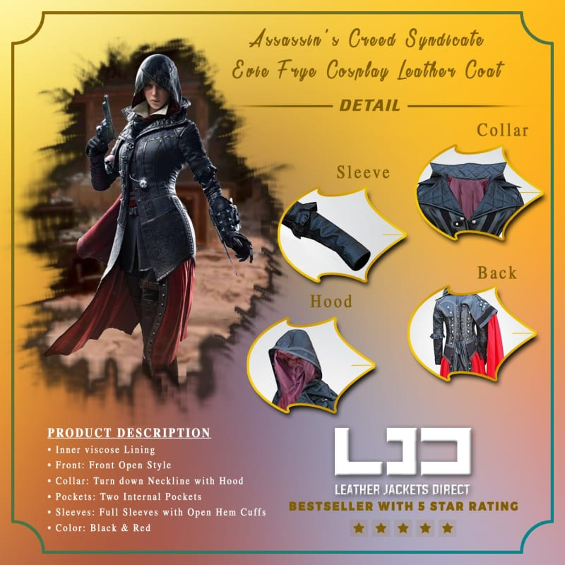 Assassin's-Creed-Syndicate-Evie-Frye-Cosplay-Leather-Coat