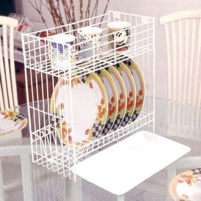 Rak Piring Mini 2 Susun + Tatakan.  [ B 30 MED + T ] | Niaga Art