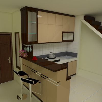 Kitchen set & Minibar | Niaga Art